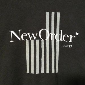 New Order Concert T-Shirt